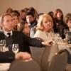 crowd listening