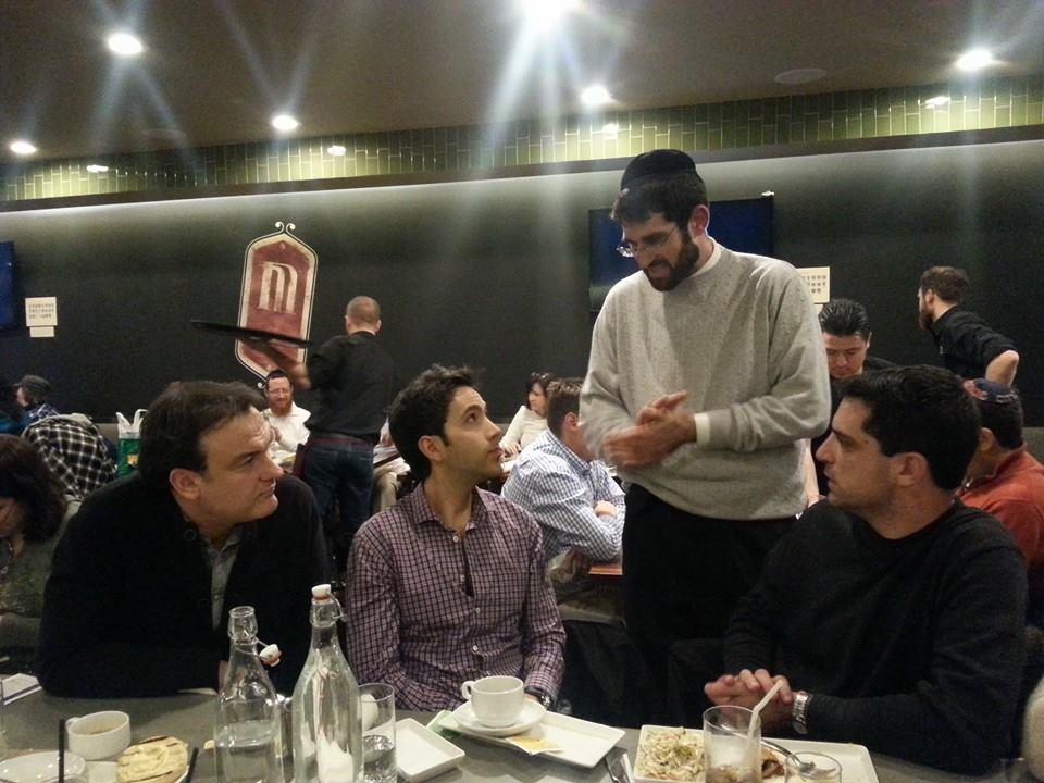 JM with Oren, Louie, & Roman